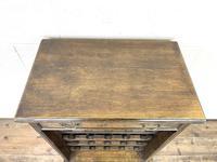 Early 20th Century Antique Oak Wine Rack (3 of 9)
