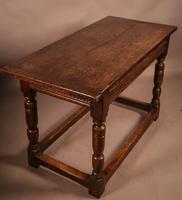 17th Century Oak Side Table (9 of 11)