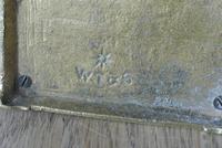 Fine William Tonks & Sons Brass Match Safe / Striker Box Vesta c.1900-1910 (4 of 4)