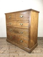 Large Antique Ash Chest of Drawers (5 of 10)