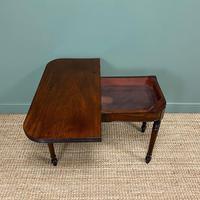 Elegant Regency Mahogany Antique Tea / Side Table (7 of 7)
