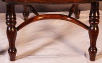 A Near Pair of Childs Yew Wood Windsor chairs (7 of 14)