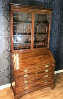 Georgian Mahogany Bureau Bookcase (8 of 17)