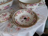Beautiful 'in the eyes of the Beholder'! 7 Piece Cauldon of Staffordshire Toilet Set c.1907 (6 of 6)