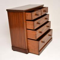 Antique Victorian Mahogany Chest of Drawers (3 of 8)