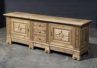 Large French Bleached Oak French Sideboard (3 of 24)
