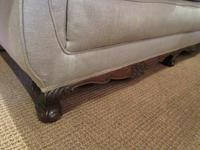 Top Quality Antique Walnut Three Seater Settee (9 of 10)