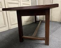 Long French Oak Farmhouse Dining Table (5 of 17)