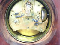 Interesting Mantel Clock, Longcase Grandfather Mantle Clock Alarm Feature (2 of 8)