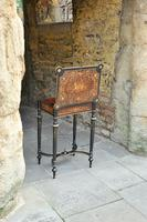 Superb French Inlaid Side Table/Work Table (7 of 18)