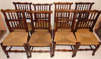 Set Of Lancashire Ladder Back Dining Chairs (7 of 7)