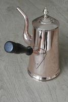 Victorian Copper Coffee Pot Dovetail Seam and Acorn Finial (3 of 8)