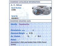 1.36 ct Aquamarine, 0.78 ct Diamond and 0.50 ct Ruby, 18ct Rose Gold Dress Ring - Vintage Circa 1950 (6 of 9)