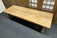 Rare Huge Oak French Farmhouse Dining Table (4 of 18)