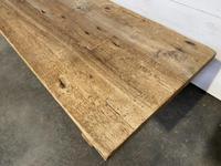 Rare Huge 3m Bleached Oak Farmhouse Table (6 of 23)