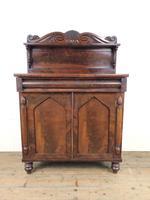 Antique 19th Century Mahogany Chiffonier Sideboard