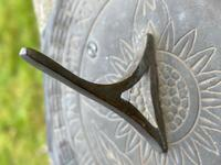 "Roman Style Stone Garden Bronze Floral Sundial ""Sunny Hour"" (14 of 30)"