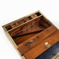Superb William IV Brass Inlaid Kingwood Writing Box by Edwards (4 of 17)