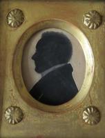 Georgian Silhouette in Fine Period Frame (2 of 4)