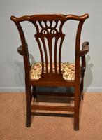 18th Century Chippendale Period Mahogany Armchair (3 of 7)