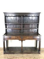 Antique 18th Century Welsh Oak Pot Board Dresser