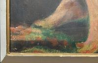 A Striking Quality 19th Century Portrait Oil Painting For Minor Tlc/restoration (12 of 13)
