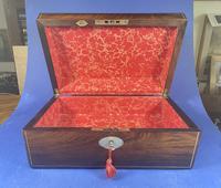 William IV Pewter Inlaid Rosewood Box (18 of 18)