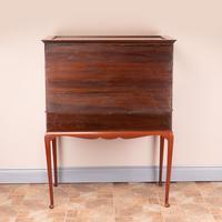 Inlaid Mahogany Display Cabinet (12 of 12)