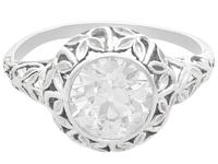 1.70ct Diamond & 18ct White Gold Solitaire Ring c.1910 (4 of 9)