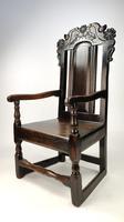 An Unusual 17th Century English Armchair (6 of 8)
