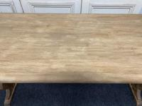 Bleached Oak Refectory Farmhouse Dining Table (8 of 13)