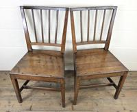 Pair of 19th Century Welsh Oak Farmhouse Chairs (2 of 10)