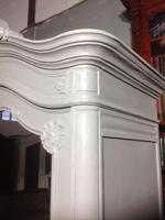 Painted Single Armoire in Plummet Grey (5 of 8)