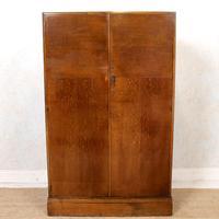 Compactum Oak Wardrobe Antique Vintage Gents Armoire (10 of 14)