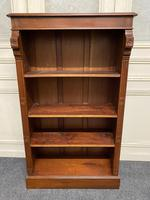 Mahogany Open Bookcase (10 of 11)