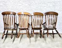 4 x Windsor Lathback Armchairs (3 of 5)