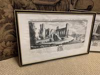 Set of 9 Framed Prints of Historic Castles & Abbeys (7 of 10)
