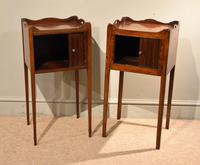 Matched Pair of Mahogany Bedside Cabinets / Tables (3 of 9)