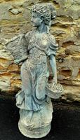 Large Composition Stone Figure / Garden Statuary (7 of 7)