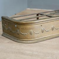 Victorian Brass Andirons & Fender (5 of 9)