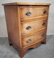 Small Mahogany Bow Front Chest In The Georgian Style / Bevan Funnell, Reprodux (8 of 8)