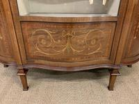 Maple & Co Inlaid Mahogany Display Cabinet (11 of 17)