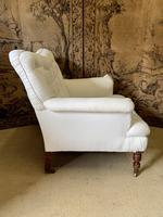 Large Victorian Country House Armchair (4 of 5)