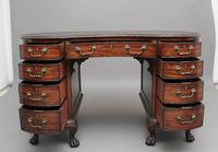 Superb Quality Edwardian Mahogany Kidney Shaped Desk (5 of 12)