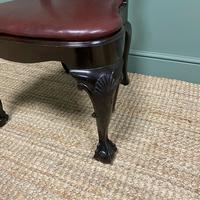 Set of 8 Edwardian Antique Walnut Dining Chairs (6 of 13)
