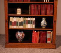 Open Bookcase in Light Oak 19th Century - England (5 of 11)