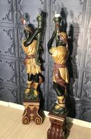 Pair of Blackamoor Figures (15 of 18)