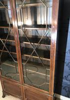 Edwardian Mahogany Bookcase (5 of 10)