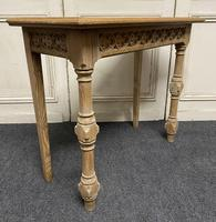 Pair of Bleached Oak Console Tables (5 of 16)