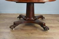 Fine Antique Mahogany Round Extending Dining Table (4 of 5)